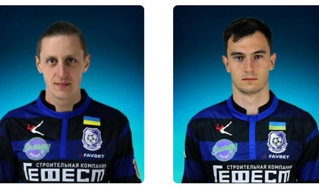 Игорь Сикорский и Олег Остапенко, ФК Черноморец