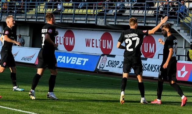 Радость игроков Зари, фото ФК Заря Луганск