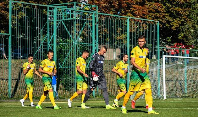 Футболисты Полесье, фото ФК Полесье Житомир