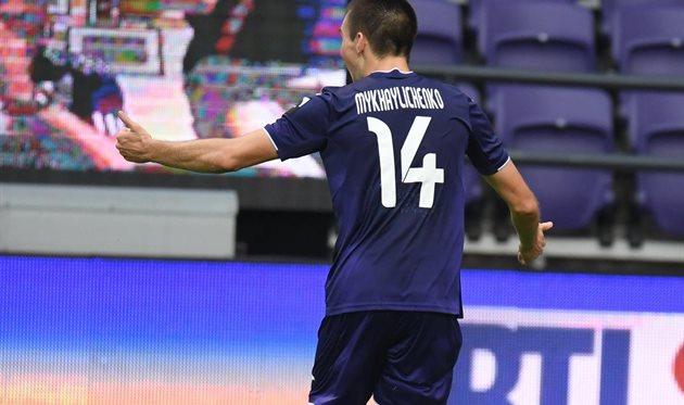 Богдан Михайличенко, фото ФК Андерлехт