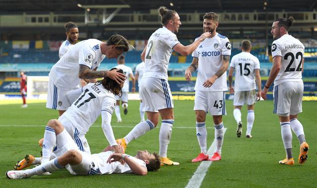 Футболисты Лидс Юнайтед, Getty Images