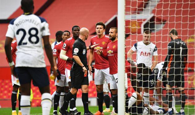 Манчестер Юнайтед - Тоттенхэм, Getty Images