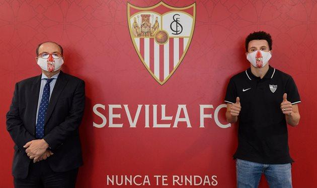 Уссама Идрисси, фото ФК Севилья