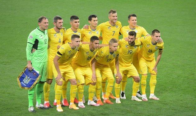 Футболисты сборной Украины, фото: УАФ
