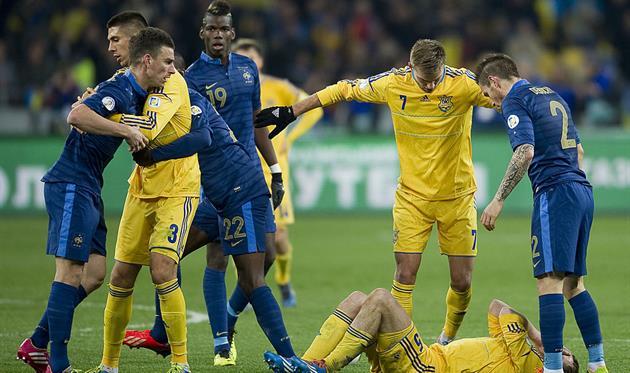 Франция - Украина, Getty Images