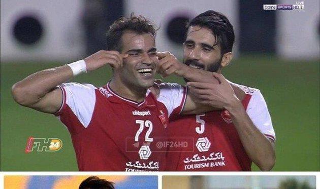 Иранский футболист получил полугодичную дисквалификацию за демонстрацию узкого разреза глаз