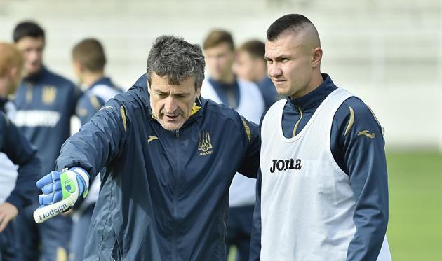 Александр Зубков (справа), фото УАФ