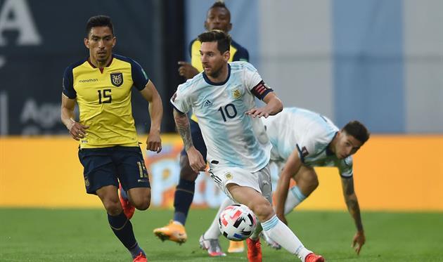Аргентина – Эквадор, Getty Images