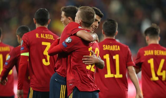 Испания огласила заявку на матч с Украиной