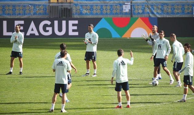 сборная Испании, фото УАФ