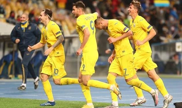 сборная Украины, фото Динамо