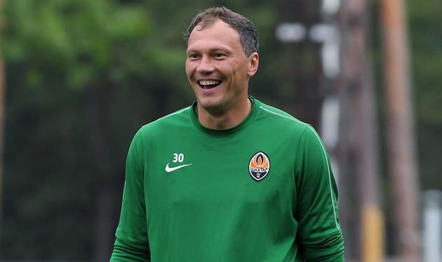 Андрей Пятов, Шахтер