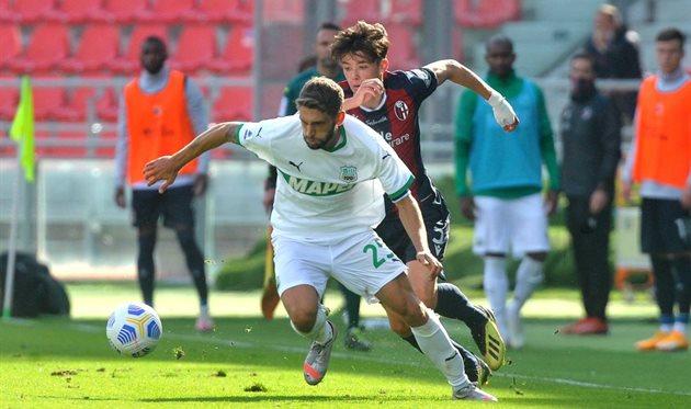 Болонья — Сассуоло 3:4 Видео голов и обзор матча