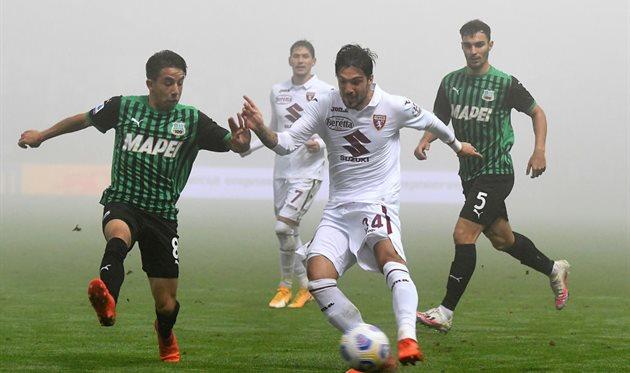 Сассуоло и Торино сыграли вничью, Getty Images