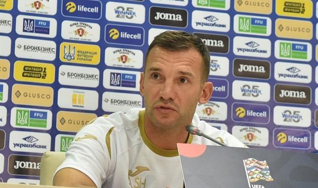 Шевченко огласил расширенный список игроков на ноябрьские матчи сборной