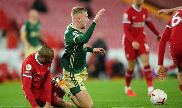 Фабиньо в матче с Шеффилд Юнайтед, Getty Images