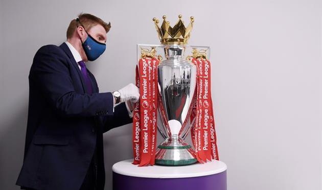 Трофей английской Премьер-лиги, Getty Images