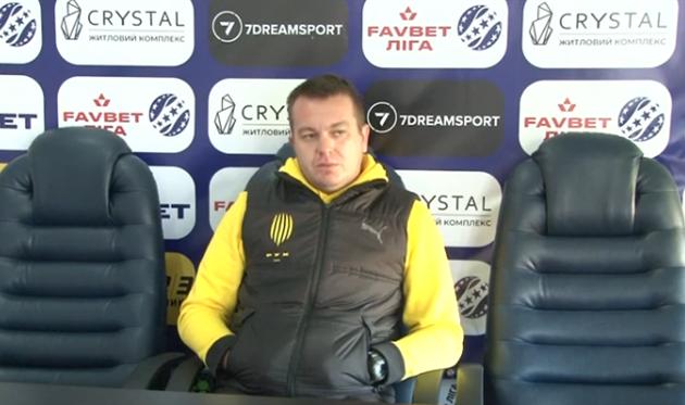 Федик: Мы хотели играть в свой футбол, но поле почему-то не полили