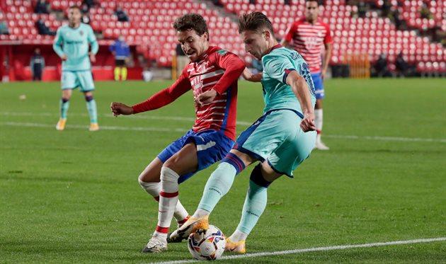 Гранада удержала ничью в матче против Леванте