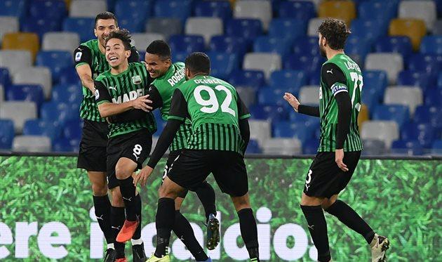 Наполи — Сассуоло 0:2 Видео голов и обзор матча