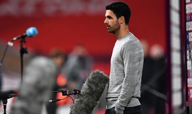Артета: Выступление каждого игрока Арсенала сегодня было на высоте