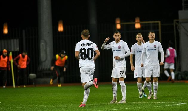 Футболисты Зари, фото ФК Заря Луганск