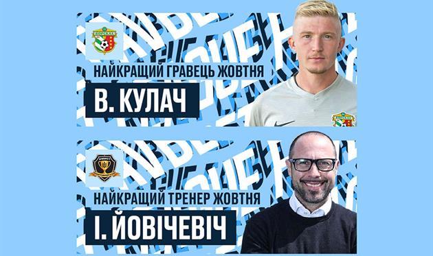 Кулач и Йовичевич — лучшие игрок и тренер октября