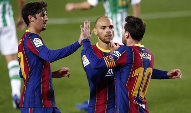 Барселона — Бетис, Getty Images