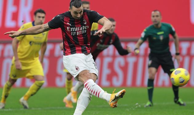Милан вырвал ничью в поединке против Вероны