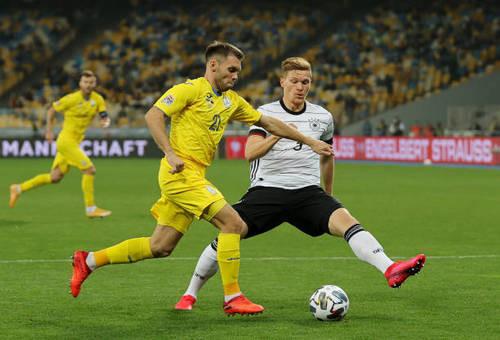 Украина - Германия, УАФ