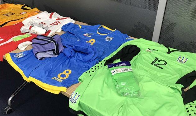 Украина сыграет в синем комплекте формы против Польши