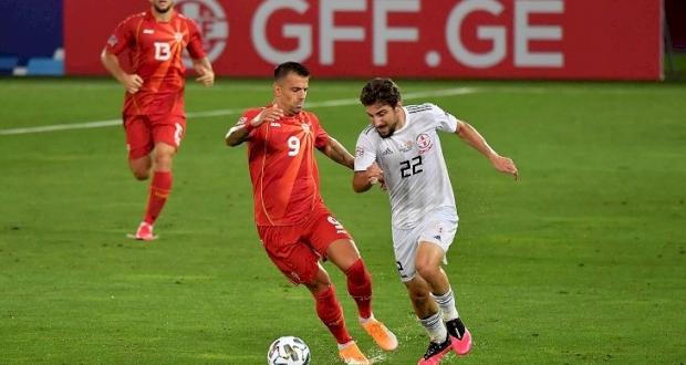 Грузия — Северная Македония 0:1 Видео гола и обзор матча