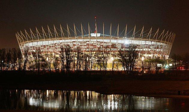 Возможно, финал Лиги наций в 2021 году пройдет на стадионе Народовы в Варшаве, Getty Images