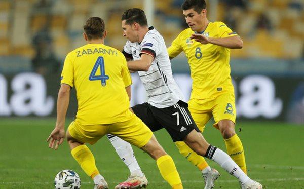 Украина - Германия, Фото: УАФ