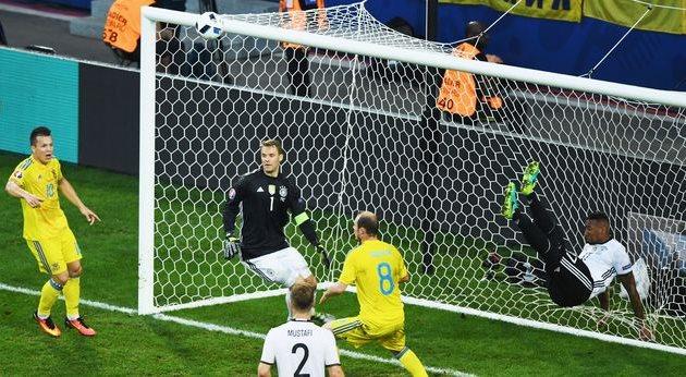 Германия — Украина, Евро-2016, Getty Images