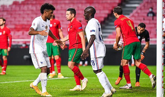 франция одержала победу над португалией, getty images