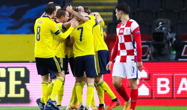 Швеция - Хорватия, Getty Images