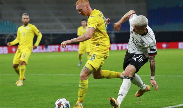 Опрос: кто был лучшим игроком сборной Украины в матче против Германии?