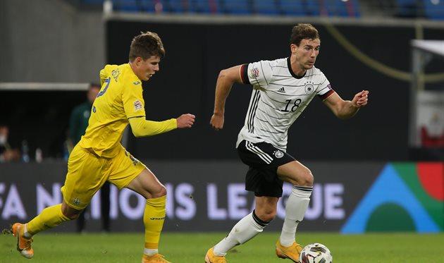 Украина потеряла шансы занять первое место в группе Лиги наций