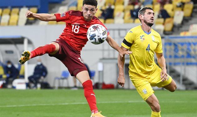 Швейцария - Украина, УАФ