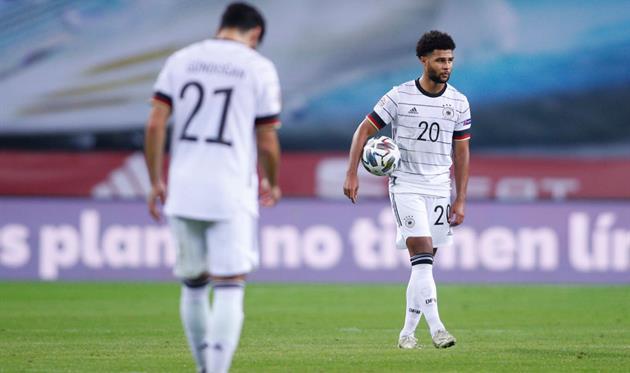 Германия потерпела самое крупное поражение в истории в официальном матче