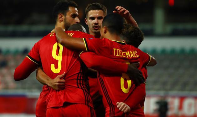 Бельгия обыграла Данию и вышла в полуфинал Лиги наций