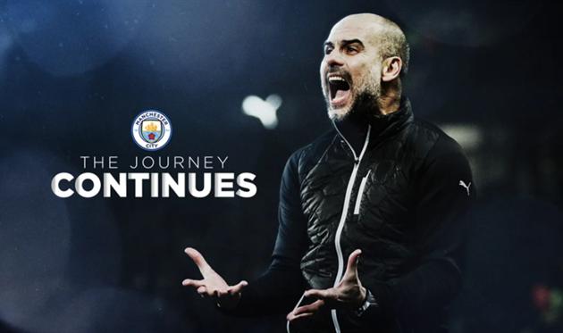 Манчестер Сити объявил о продлении контракта с Гвардиолой