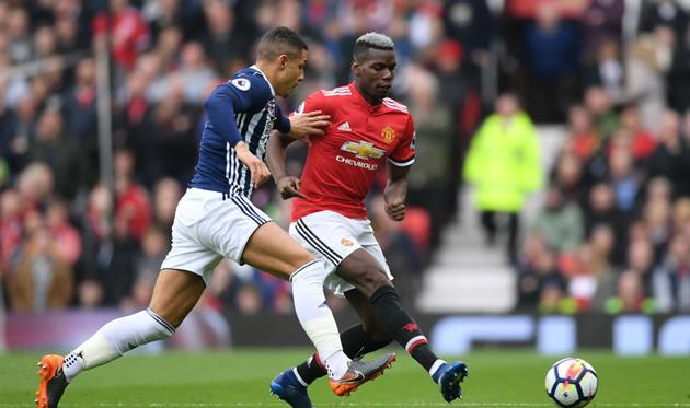 Манчестер Юнайтед — Вест Бромвич, Getty Images