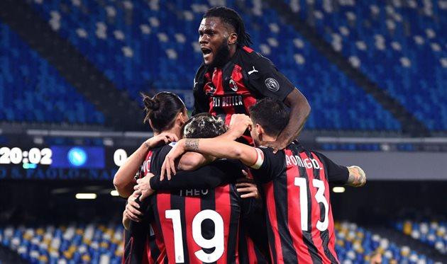 Милан не проигрывает 20 матчей в Серии А кряду