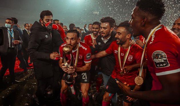Футболисты Аль-Ахли, facebook.com/Officialahlysc