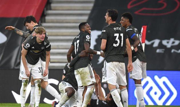 Игроки Манчестер Юнайтед, getty images