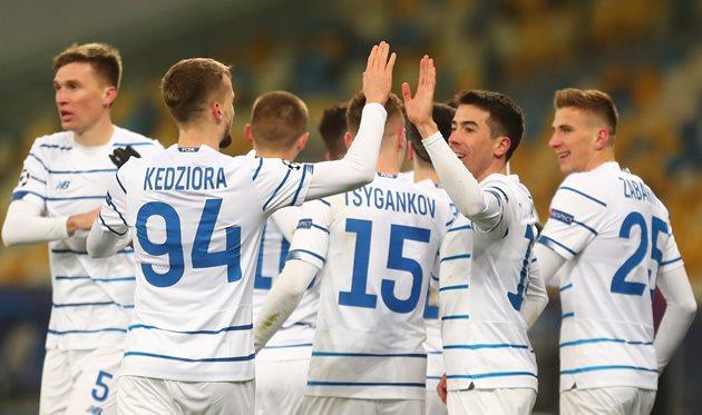 Динамо Киев — Ференцварош, Getty Images