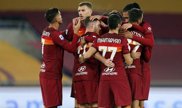 Игроки Рома, getty images