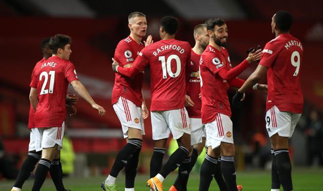 Футболисты Манчестер Юнайтед, Getty Images
